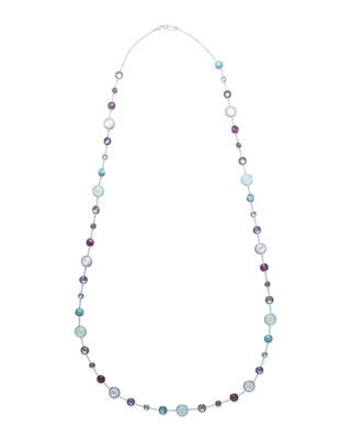 Ippolita Lollitini Sterling Silver Necklace in Eclipse, 36