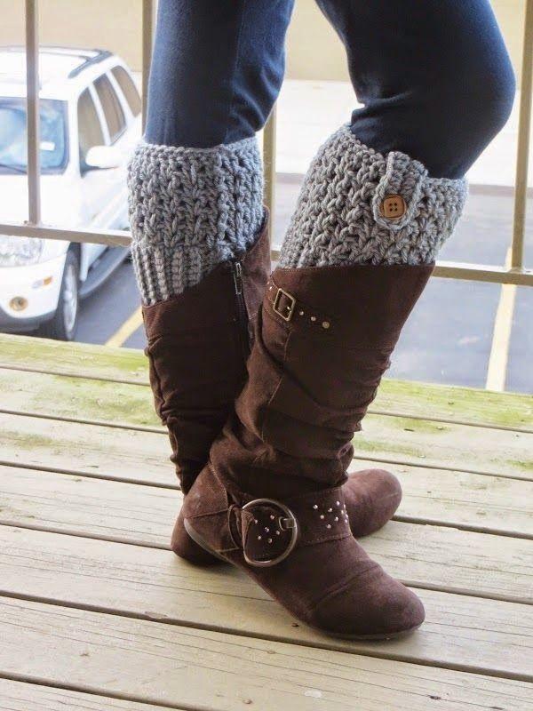 Crochet Dreamz: Bailey Boot Cuffs, Free Crochet Pattern | Shoes ...