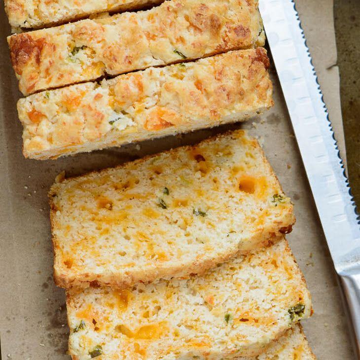 Cheddar Jalapeno Buttermilk Bread Recipe Yummly Recipe Buttermilk Recipes Recipes Buttermilk Bread