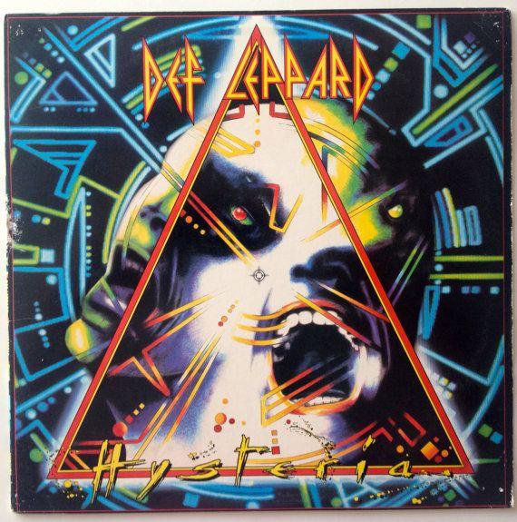 Def Leppard Hysteria Lp Vinyl Record Album Mercury 422 830 675 1 Q 1 Hard Rock 1987 Def Leppard Album Covers Metal Albums