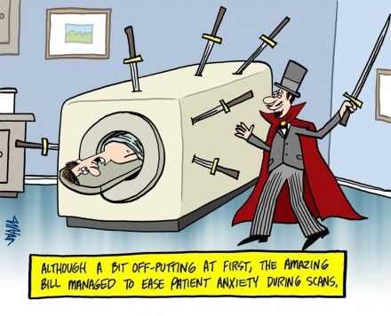 An Open Mri Scan Machine Is Built To Optimize Patient Comfort In Fact Our Mri Machine Is So Open That Patients May Even Have A Mri Radiology Humor Radiology