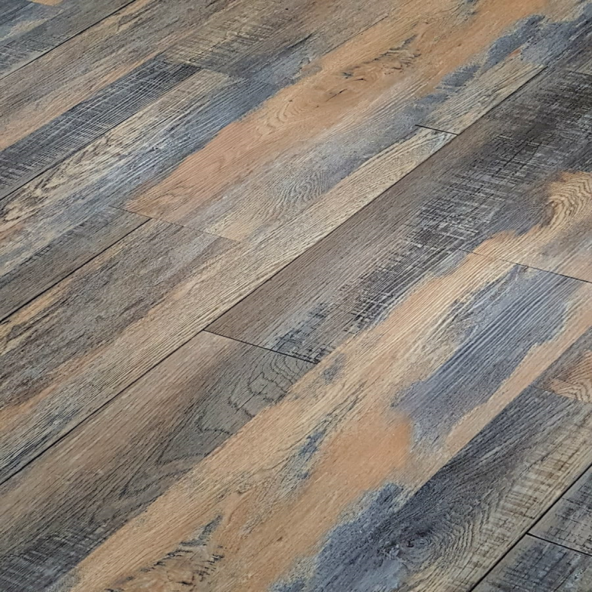 Colours Grey Stone effect Luxury vinyl click flooring 1.49 ... |Vinyl Click Flooring