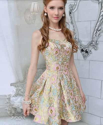 0676be830 vestido curto rodado princesa importado frete gratis | Long Dress ...