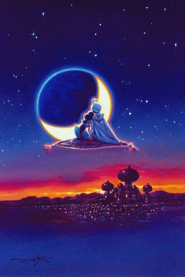Aladdin/Jasmine | Wallpapers | Pinterest