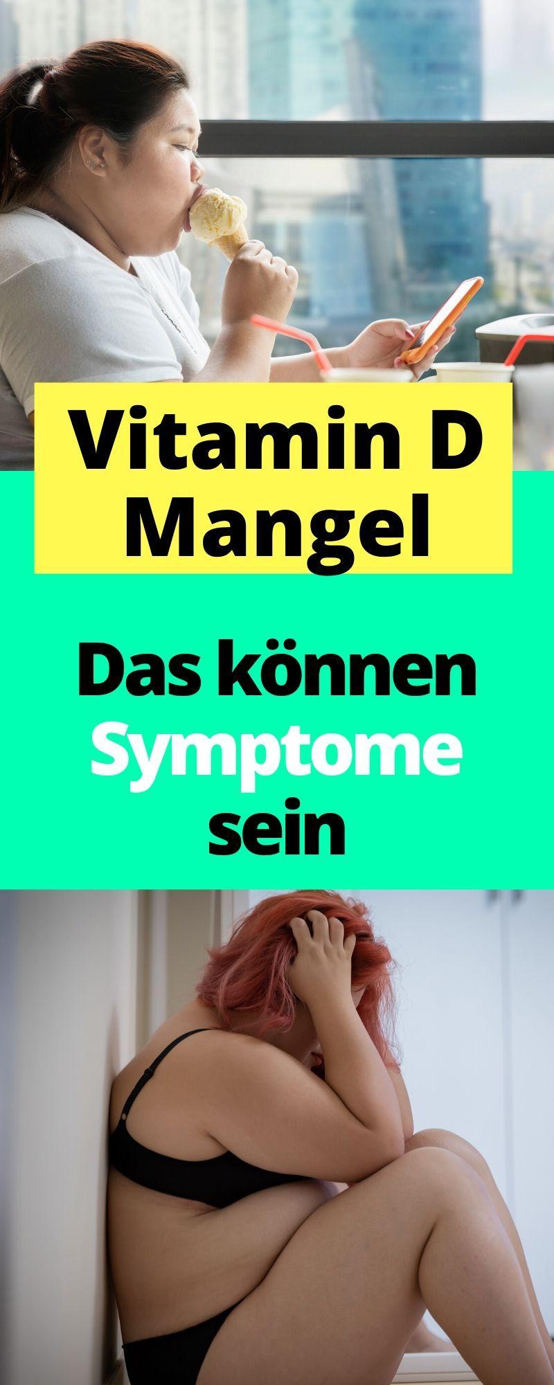 Das könnten Symptome beim Vitamin D Mangel sein #vitamins