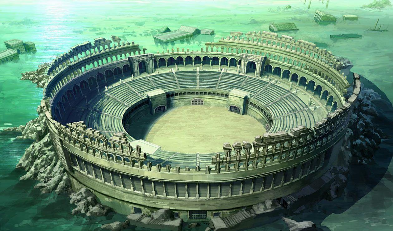Coliseum Characters Art Drakengard 3 Fantasy