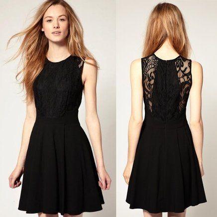 Resultado de imagem para vestido preto