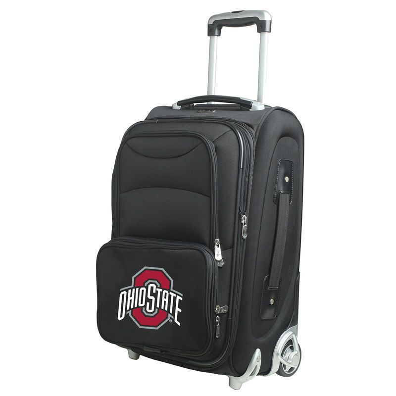 "Ohio State Buckeyes 21"" Rolling Carry-On Suitcase"