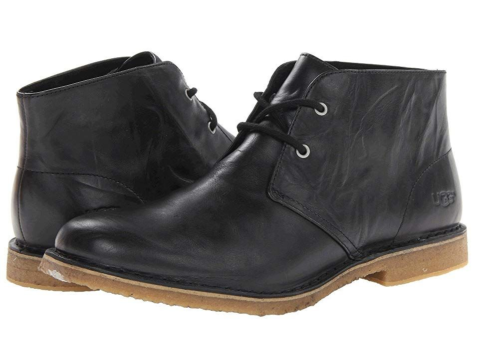 dafd3f5ec9c UGG Leighton Men's Dress Lace-up Boots Black | Products in 2019 ...