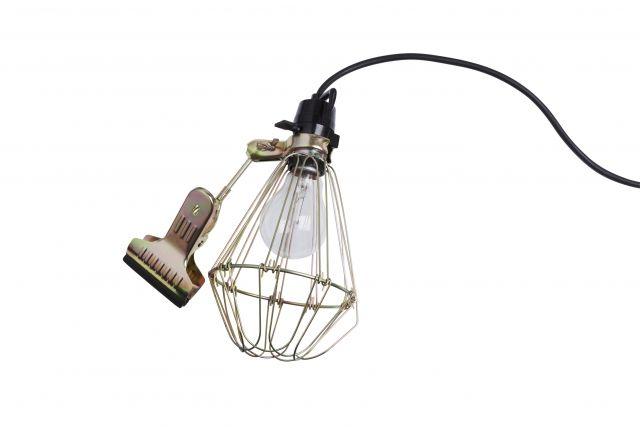 Hay   Industrial Clamp Lamp  MINE