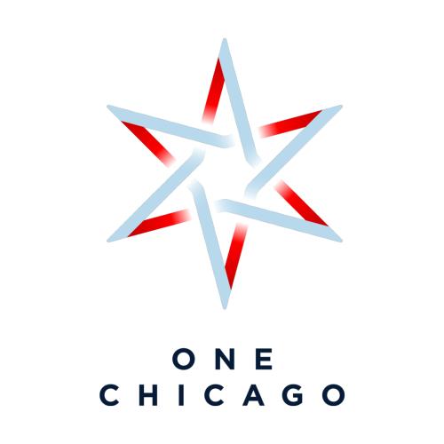 One Chicago Logo In 2021 Chicago Logo Logo Design Ice Logo