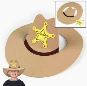 8df30a11806 Make out of paper plate and construction paper Cowboy Hat Crafts