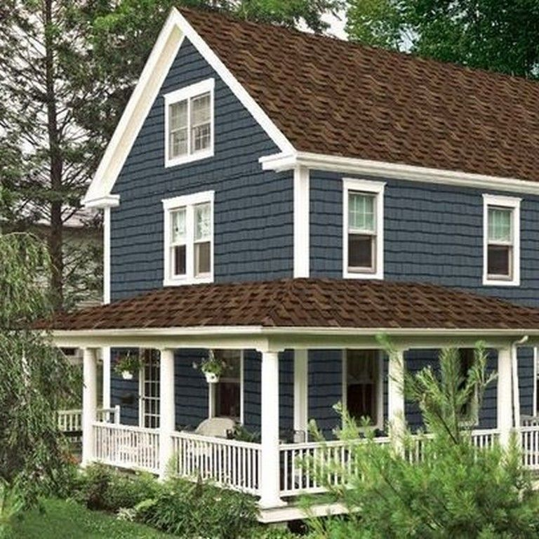 Beautiful Home Exterior Colors: 50 Beautiful Exterior Paint Colors For House With Brown