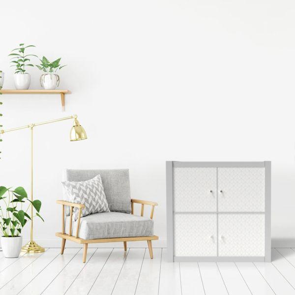 Kallax Geometrique Scandinave 2 Kusthome Shop En 2020 Meuble Kallax Kallax Mobilier De Salon
