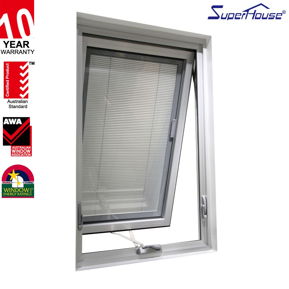 Fire Rated Aluminum Profile Awnings Windows Philippines With Asstandard