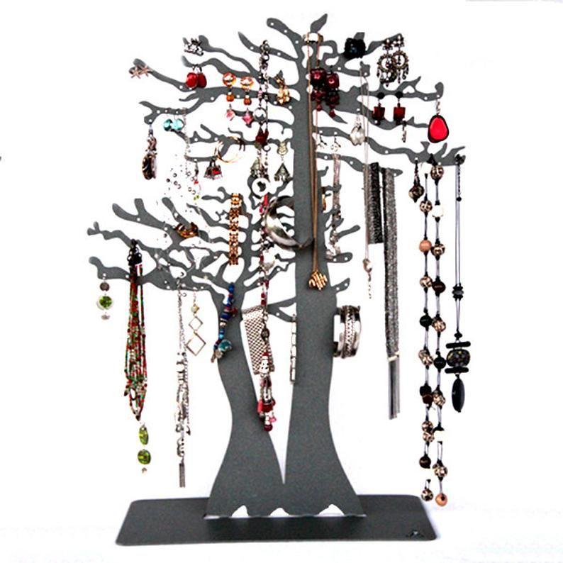 Arbre Porte Bijoux Baobab En Metal Design Pour Vos Colliers Vos Bracelets Et Boucles D Oreilles