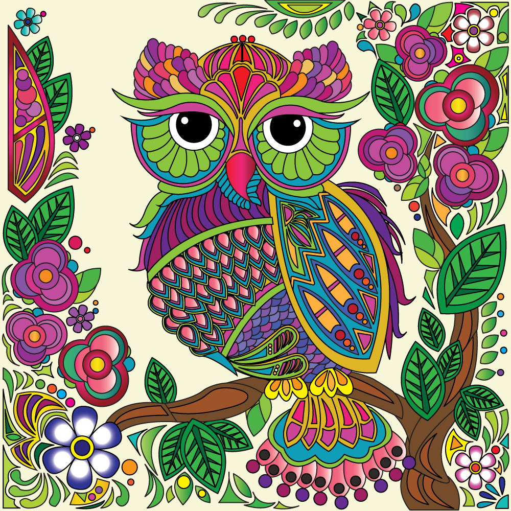 Pin On Free Adult Owl Coloring Pages
