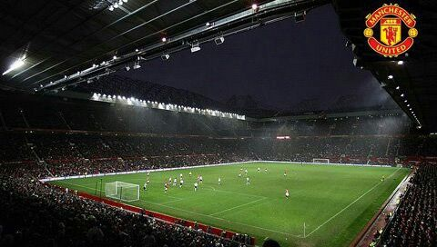 Old Trafford Theatre Of Dreams Night Atmosphere Manchester United Legends Manchester United Wallpaper Manchester United
