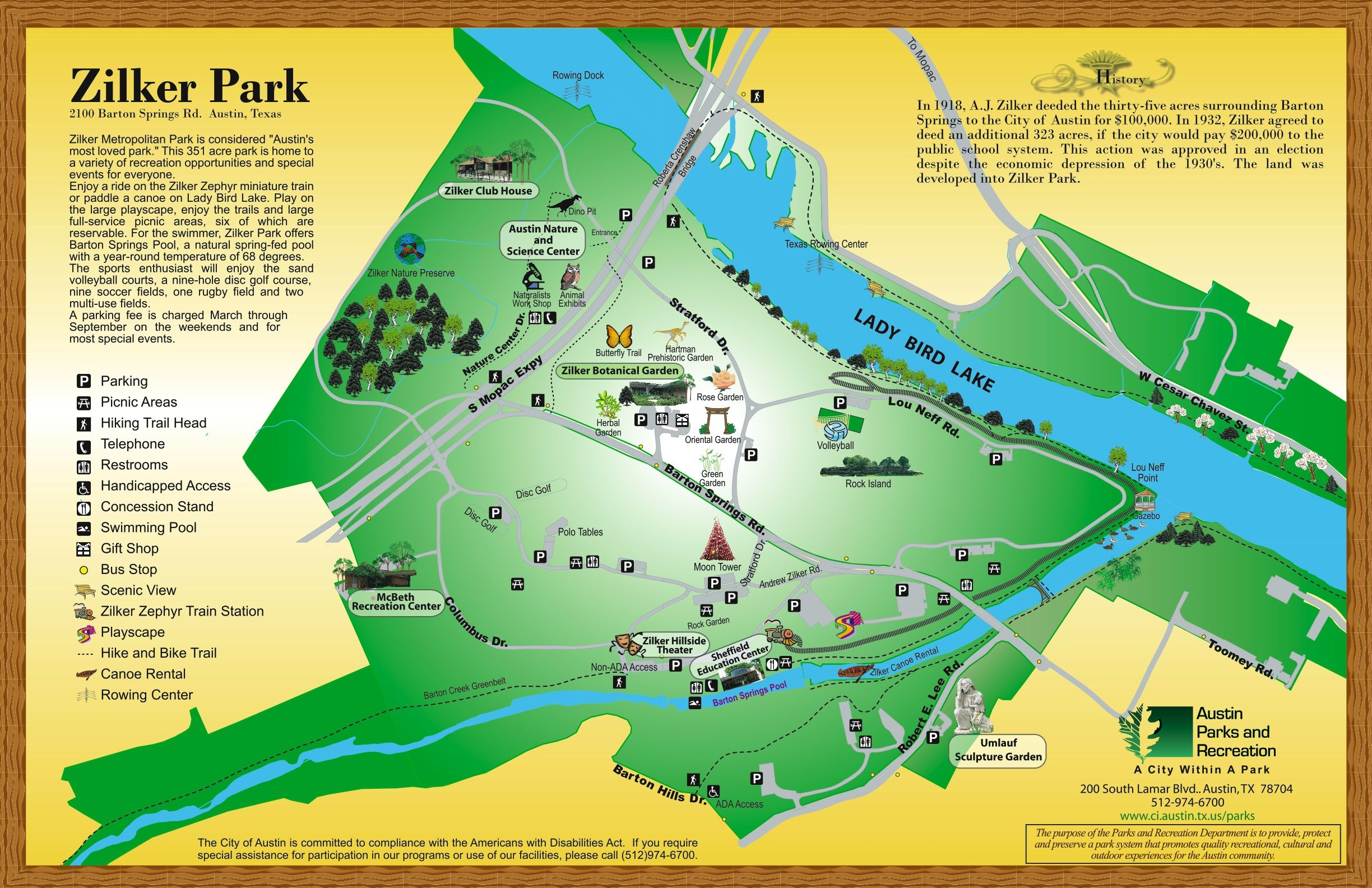 Zilker Park Map on austin map, lakeline mall map, san marcos map, mckinney falls state park map, fair park map, the pageant map, edwards aquifer map, circuit of the americas map, camp mabry map, the national map, stadium map, jj pickle research center map, iroquois amphitheater map, madison square garden map, highland mall map, dell diamond map, wisconsin state parks map, piedmont park map, red rocks amphitheatre map,