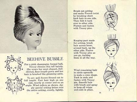 Beehive Bubble, from the original 1960's hair brochure.