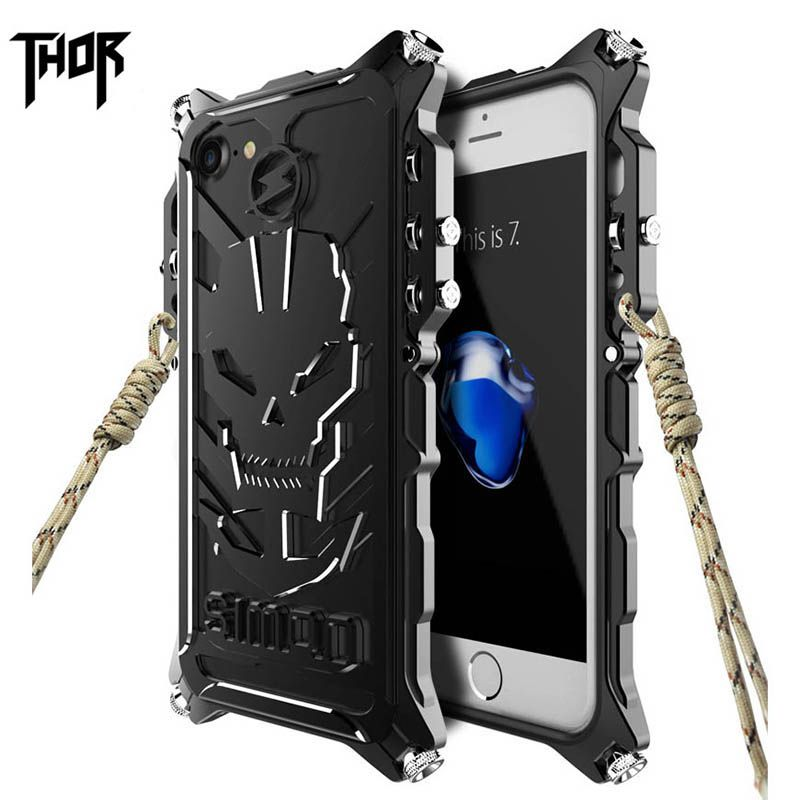 sale retailer b9569 b8933 Simon case for iphone 7 7 plus Thor Shockproof Mechanical arm Metal ...