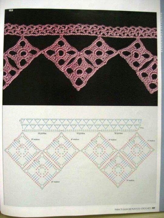 Puntos de crochet | bufandas crochet Pinterest | Pinterest | Punto ...
