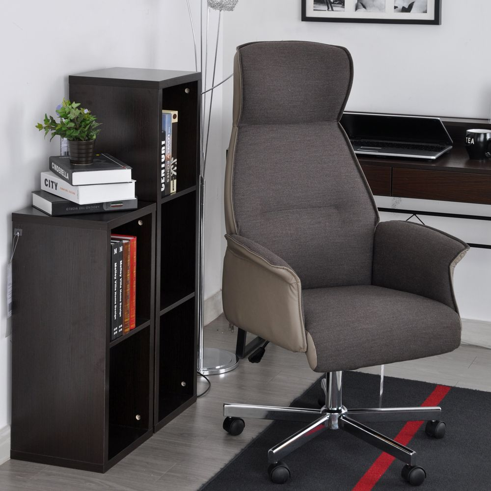 Aingoo boss office chair with arms with fabric pads seat height