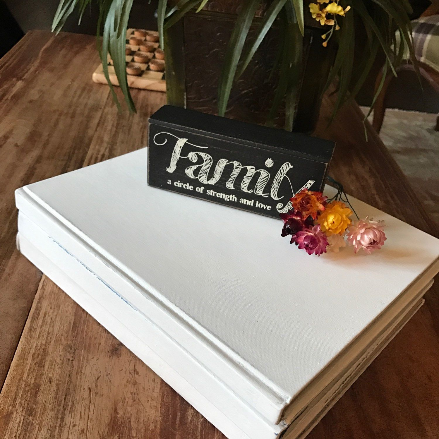 Hand Painted, Larger Books, White Coffee Table Books, Any