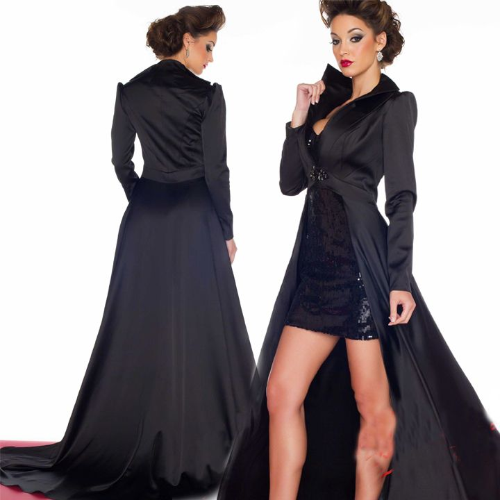 Turmec » long evening dresses with long sleeve jacket | Long ...