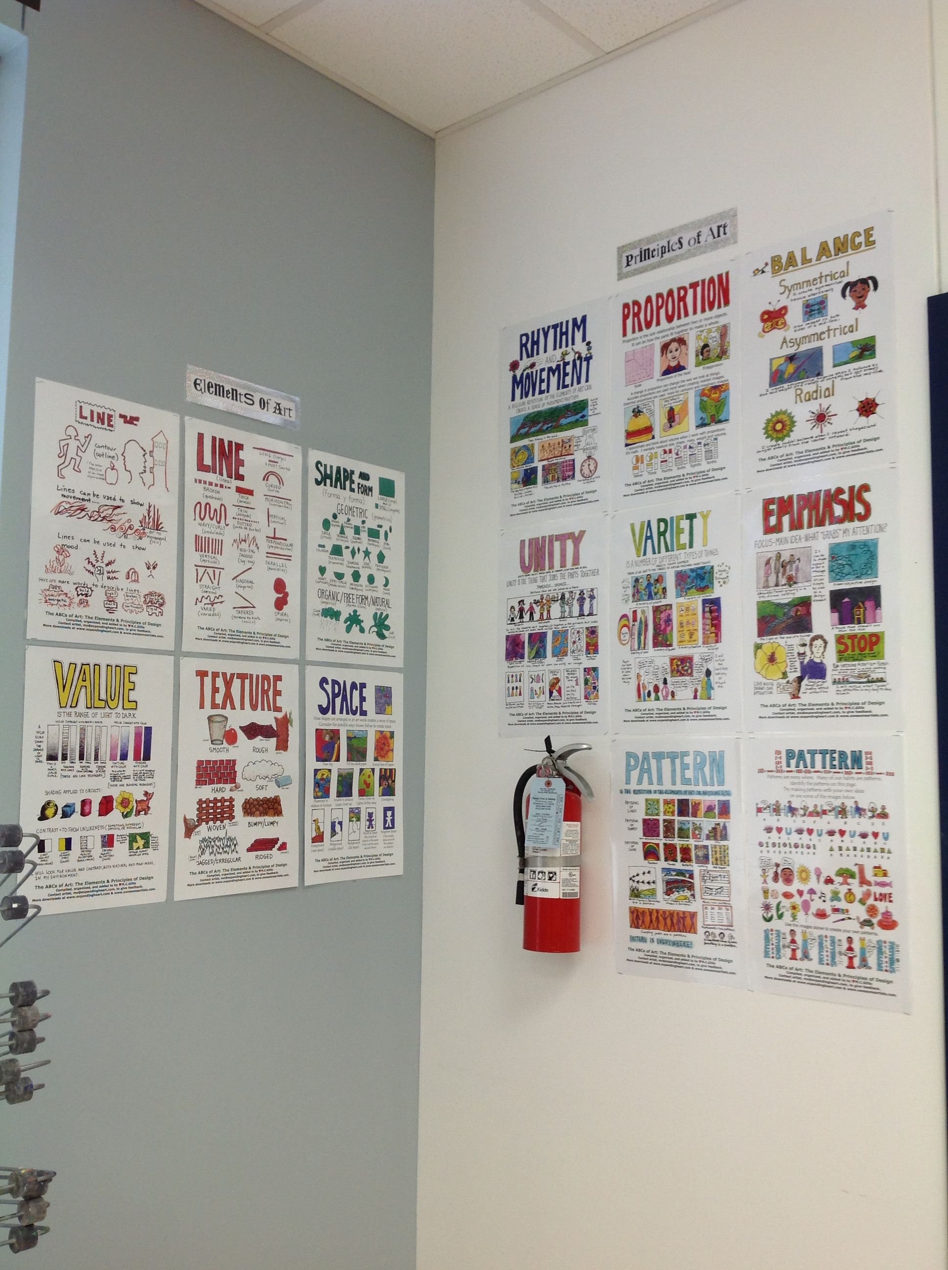 Elements And Principles Of Art Wall