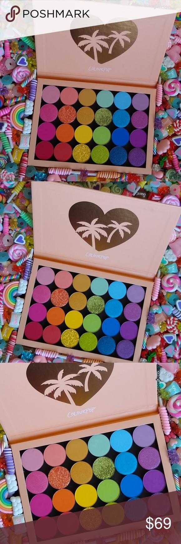 ColourPop Rainbow Pallete🌈 I swear colourpop made this