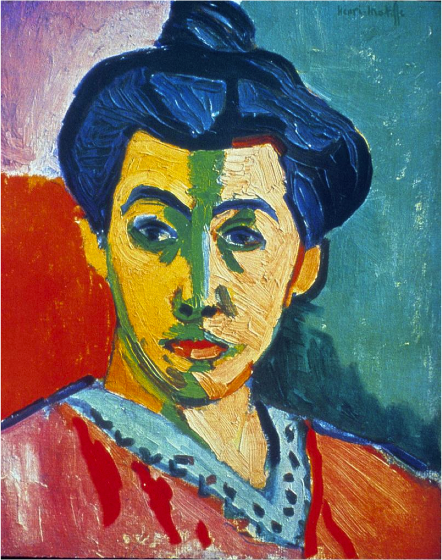 henri matisse the green line essay Henri matisse introduced his new ideas to the art world at the turn of the century   as shapes and dissolving the boundaries lines created (arnason, fauvism)   (greenberg) he once said when i put a green, it is not grass.