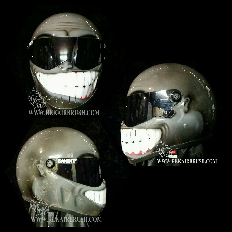 Custom Painted Motorcycle Helmets Florida
