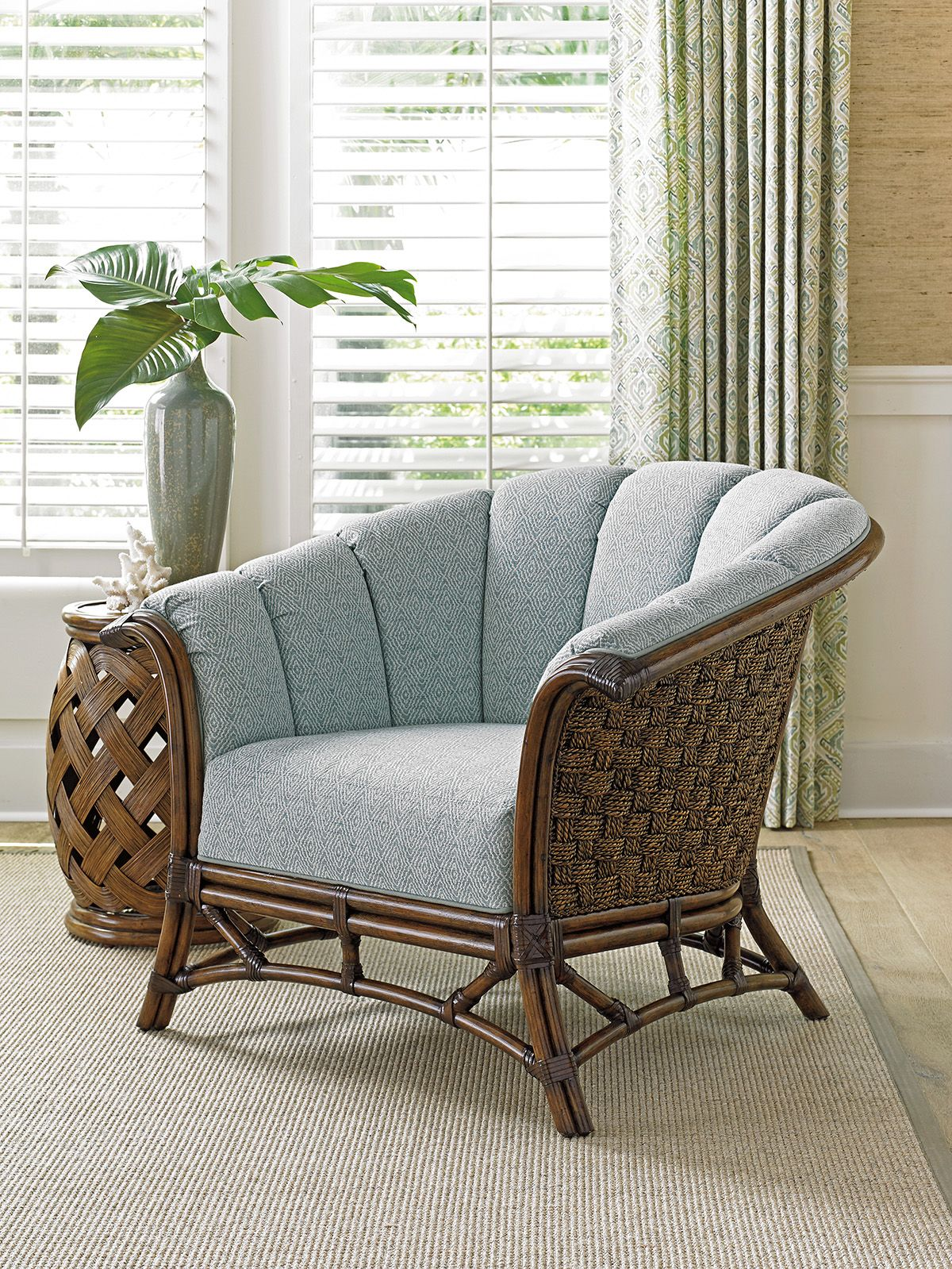 Twin palms sunset key chair tommy bahama home take a seat in