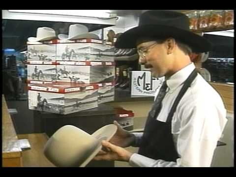 90b45cfe6e10e How is a cowboy hat made  Old-fashioned hat making custom hats - YouTube