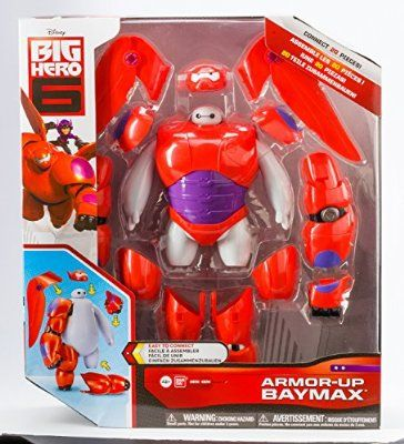 Big Hero 6 Armor Up Baymax Action Figure Big Hero 6 Big Hero Action Figures