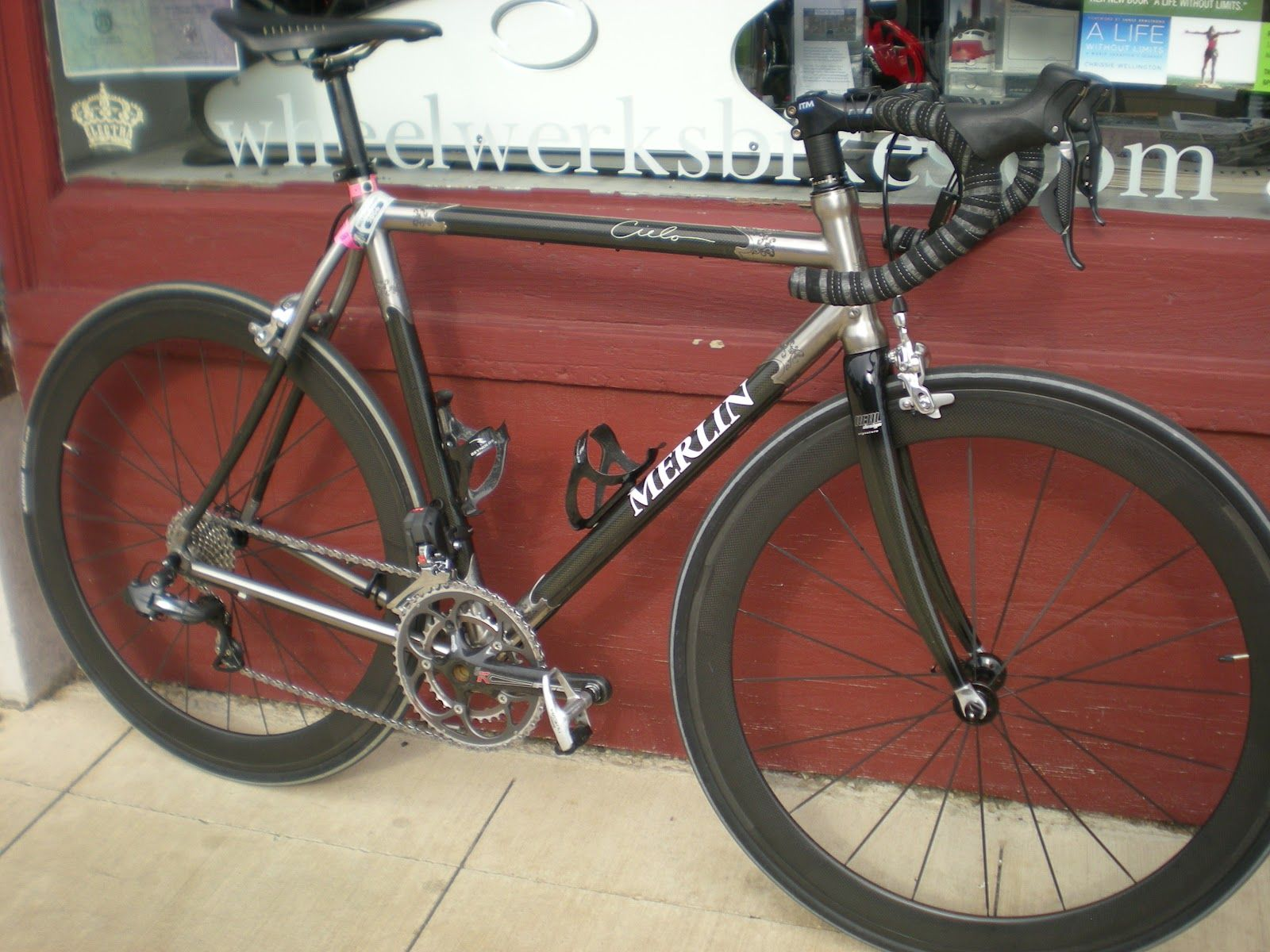 Merlin Titanium Cielo Bicycles Pinterest Road Cycling And