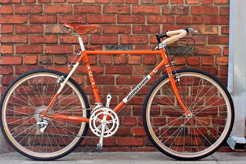Cc Bicycle Gallery William Hsu S Bridgestone Xo 1 Bicycle Bridgestone Vintage Mountain Bike