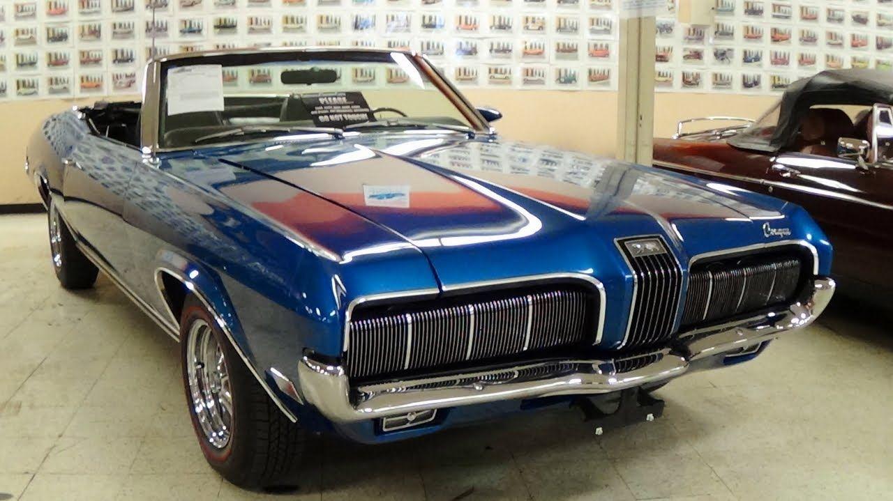 1970 Mercury Cougar XR7 Convertible | vintage autos | Pinterest ...