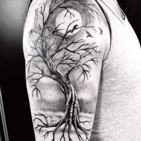 Image result for tree tattoos | Tattoos | Pinterest ...