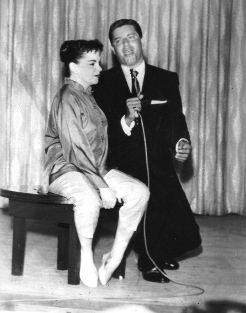 Image result for jerry lewis goes on for judy garland at the frontier hotel