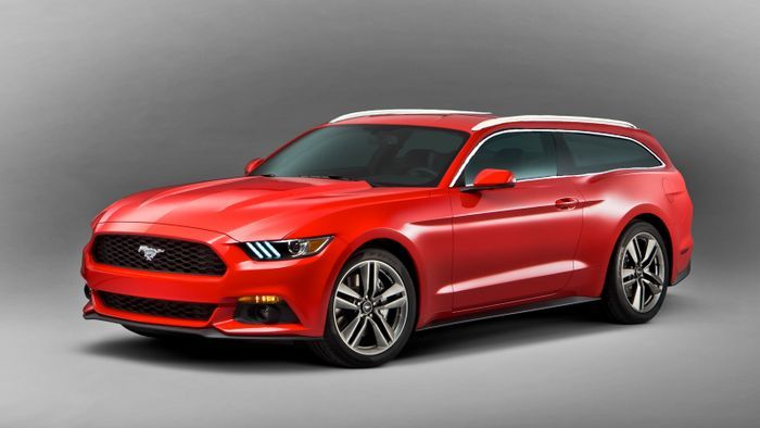 Ford Mustang Station Wagon Auto 2015 Ford Mustang Ecoboost