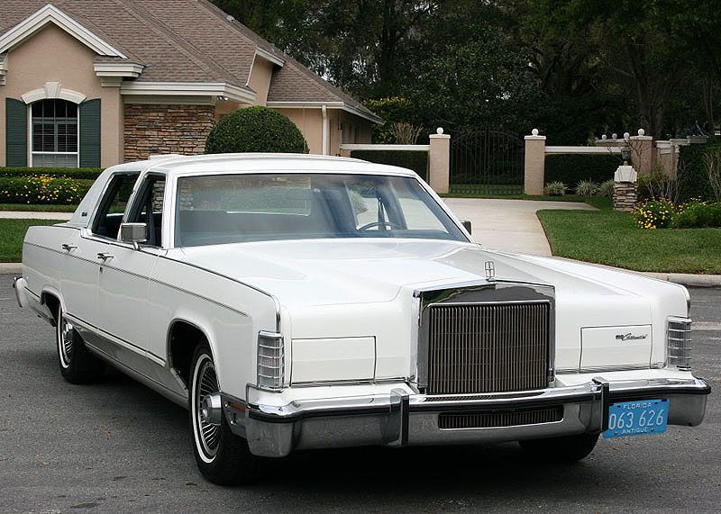 1979 Lincoln Town Car Collectors Series Mjc Classic Cars