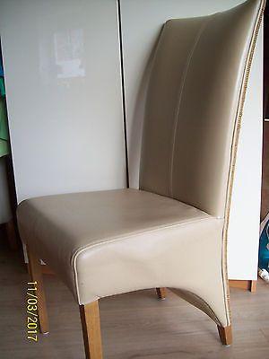 6 Stühle LOOM Esszimmerstühle ,Leder Rattan Alle 230 Euro; EEK A++sparen25