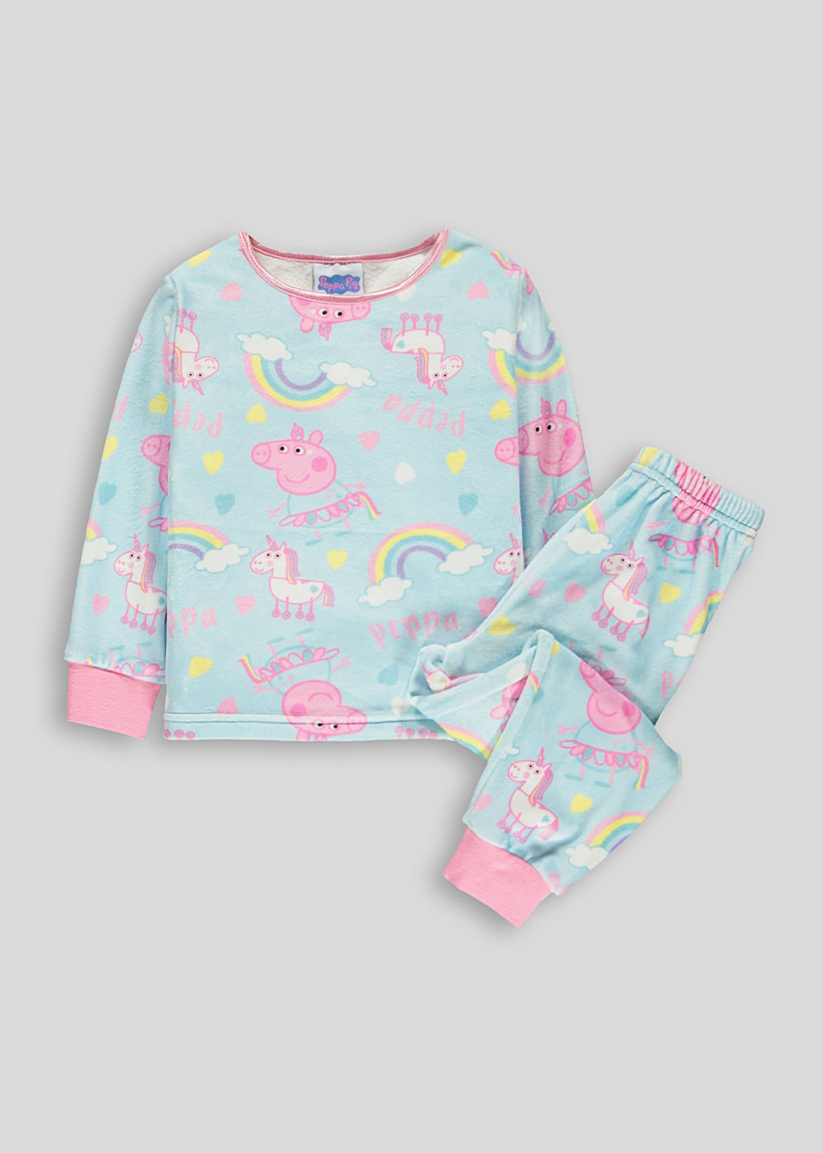 Peppa Pig Official Girls T-Shirt Long Sleeve Age 3//8 Years