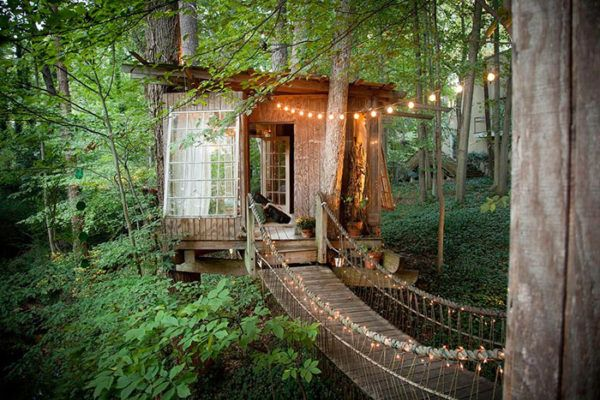 Incredible Three Part Treehouse Cabin In Atlanta Airbnb