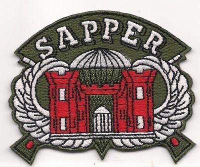 US Army Combat Engineer Sapper Patch | Abd ordusu ve Ordu