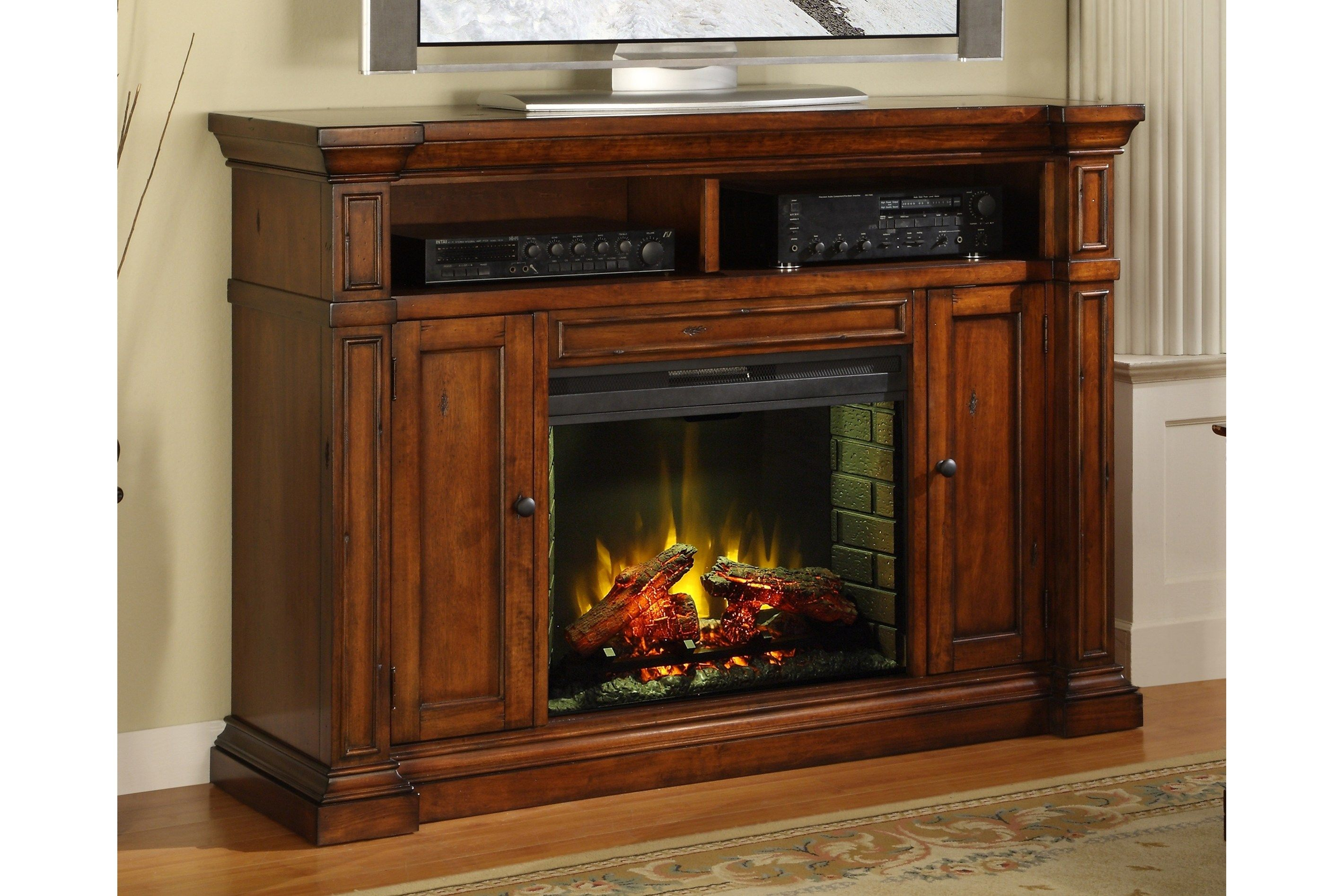 Bobs Furniture Electric Fireplace ~ dact.us