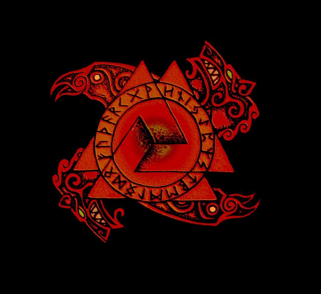 Odins magic rune circle vikings pinterest runes norse odins magic rune circle buycottarizona Choice Image