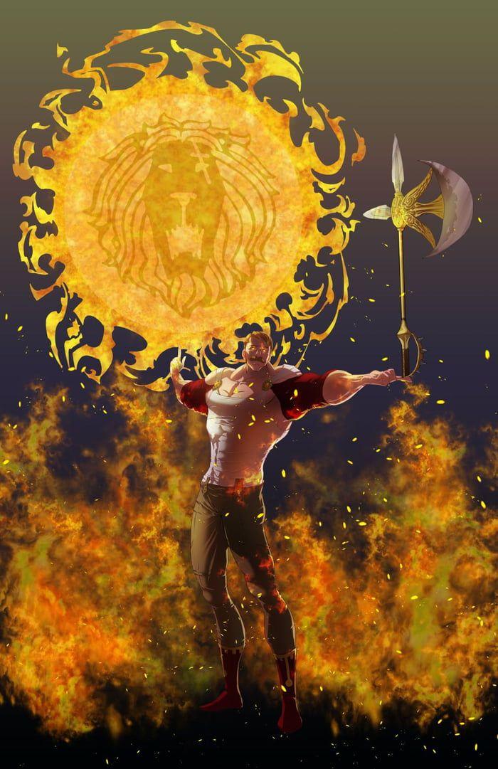 Escanor art! Sunlight is my power!
